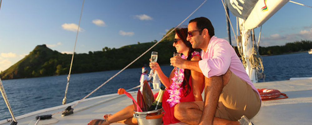 romantic sunset cruise st lucia tours TravelSmart