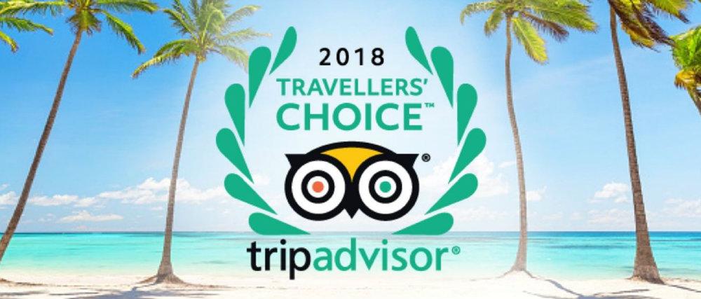 2018 Tripadvisor awards Featured Image travelsmart vip