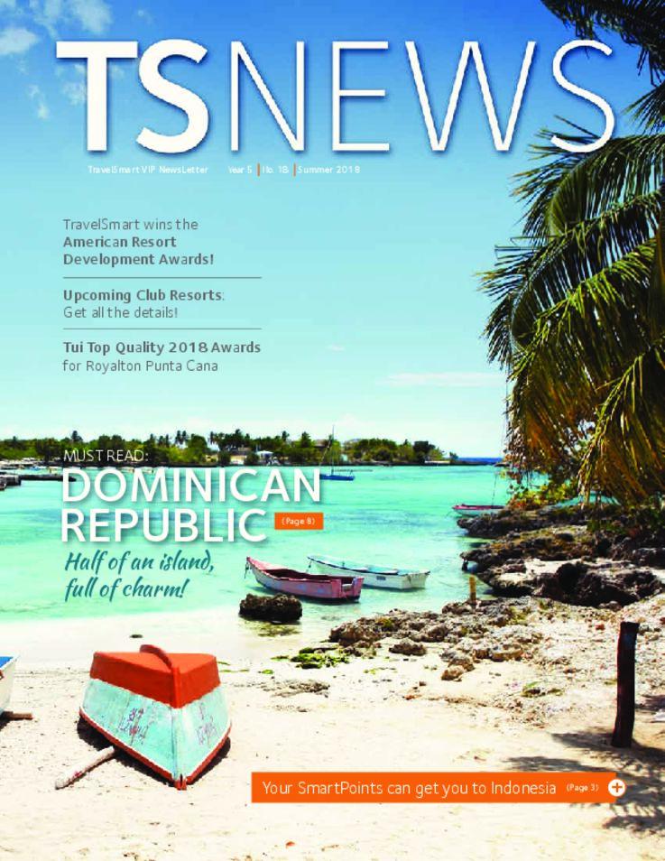 TSNews TravelSmart VIP Newsletter Summer 2018