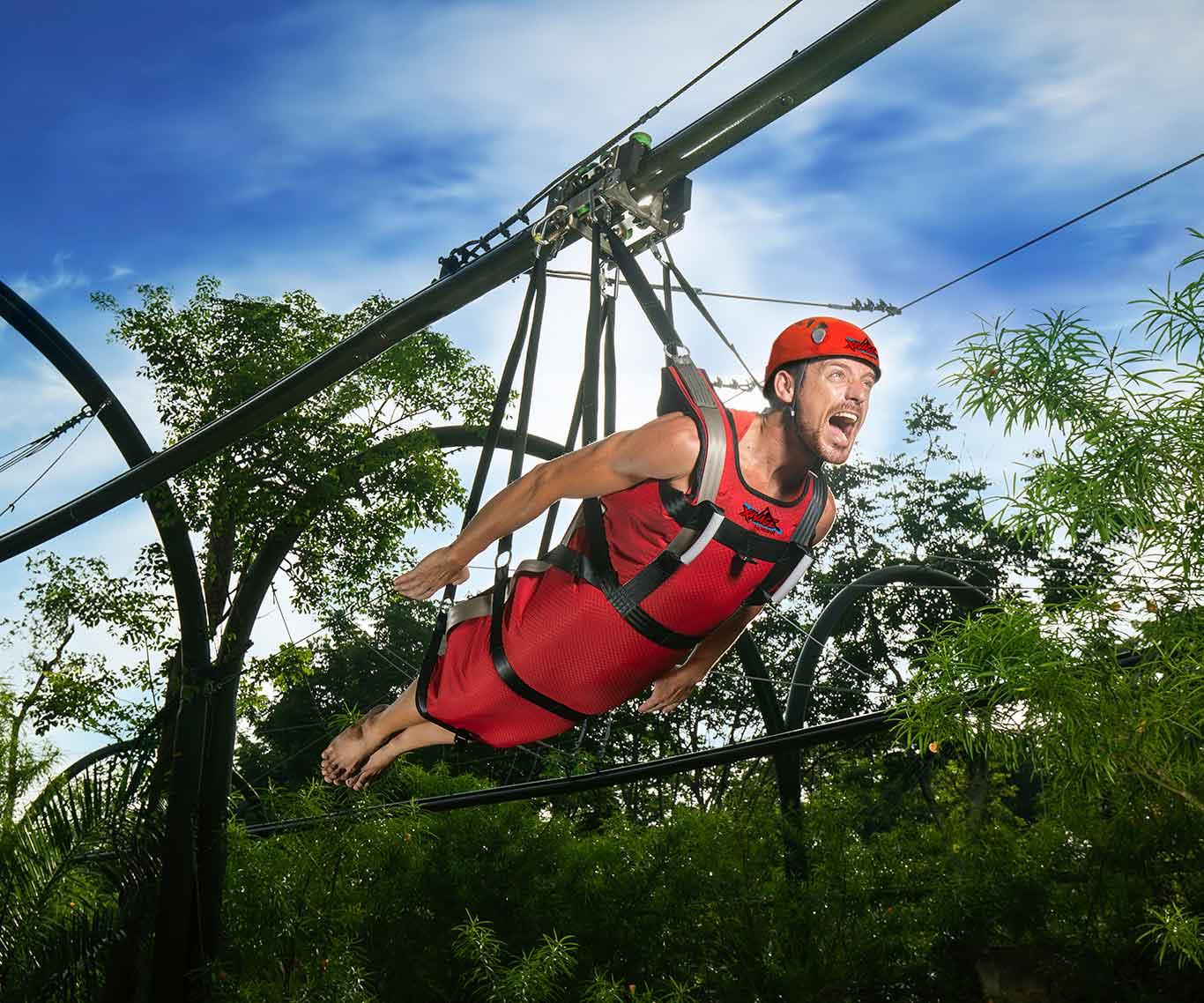 Xavage Cancun - hawk - Grupo Xcaret - TravelSmart VIP Vacation Club