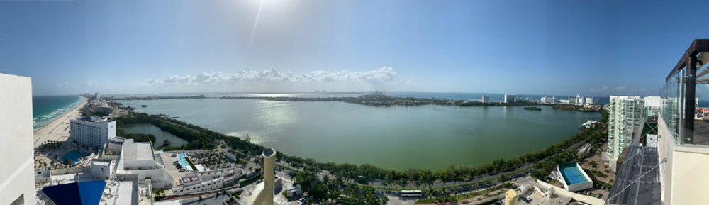 Panoramic Elevator Royalton Cancun Suites TravelSmart VIP