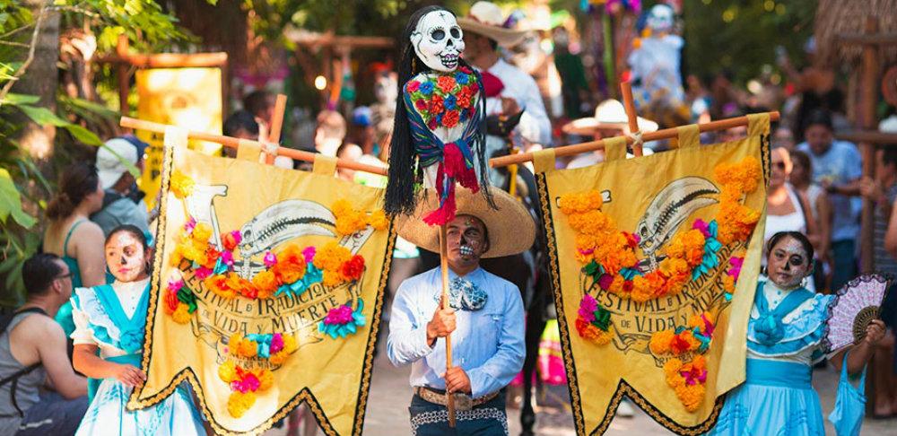 xcaret festival vida y muerte 2019 parade travelsmart vip