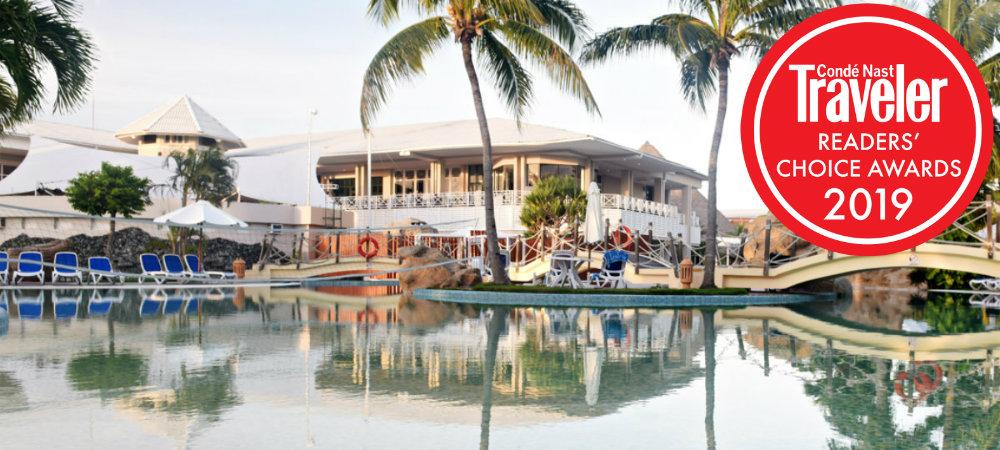 Conde Nast readers choice 2019 royalton hicacos cuba travelsmart vip