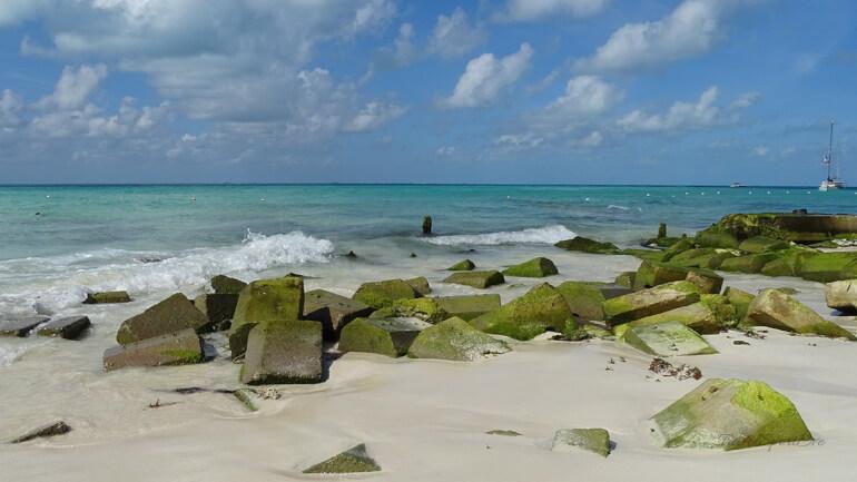 Mexiko Rundreise Strandspaziergang Isla Mujeres