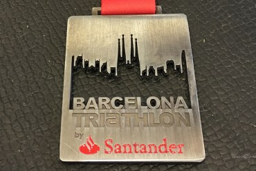 Barcelona Triathlon 2016 Medaille