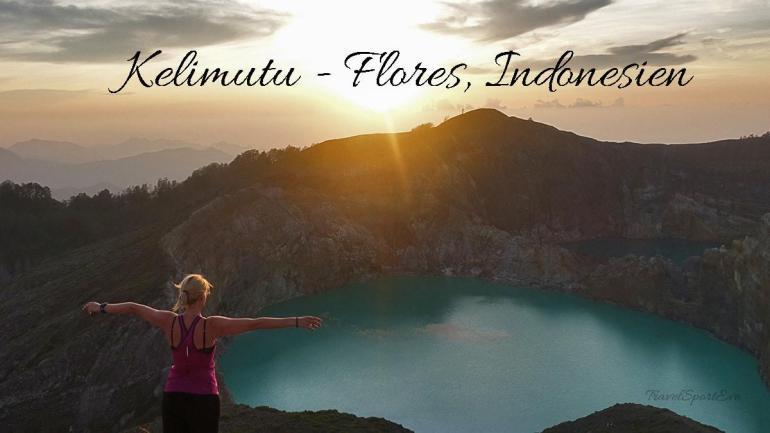 Besteigung Vulkan Kelimutu Flores Indonesien