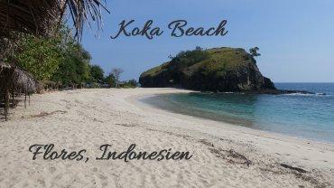 Koka Beach Strand Flores Indonesien