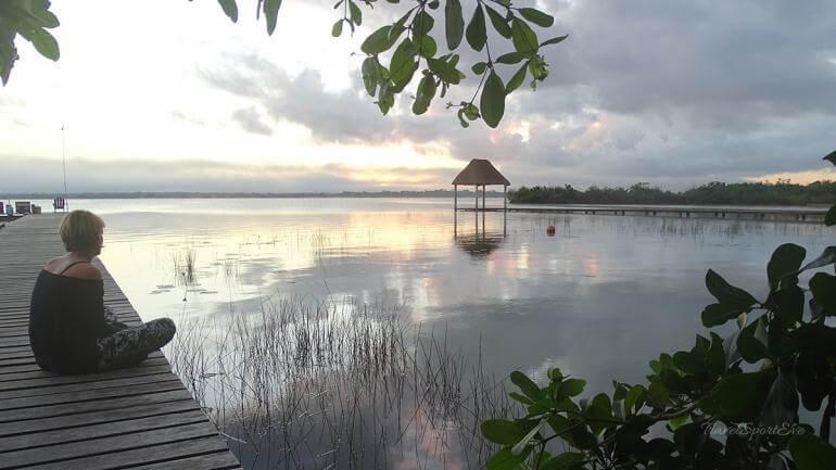Laguna-Bacalar-Sonnenaufgang-Eve