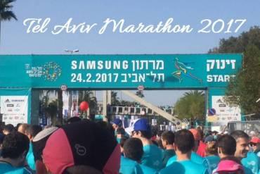 Tel Aviv Marathon 2017 Teilnehmer Interview