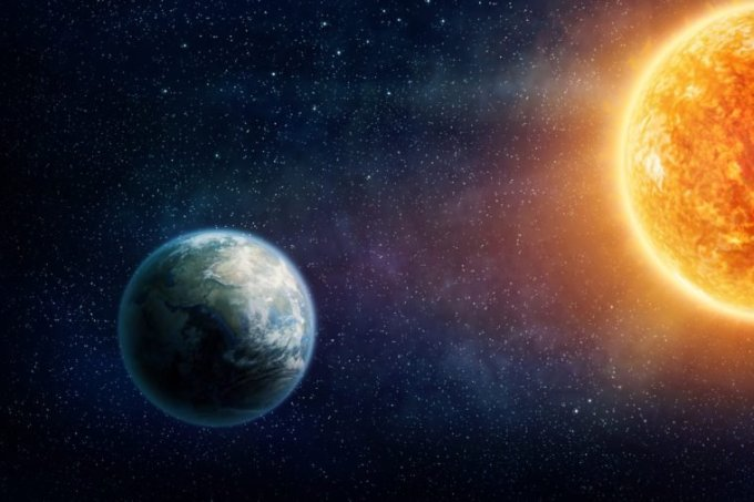 Interesting Facts of The Earth Sunlight