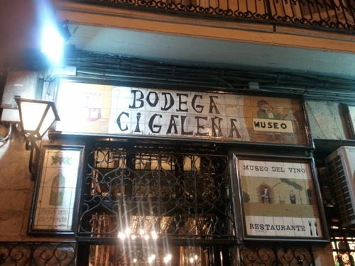 Bodega Cigalena, Santander