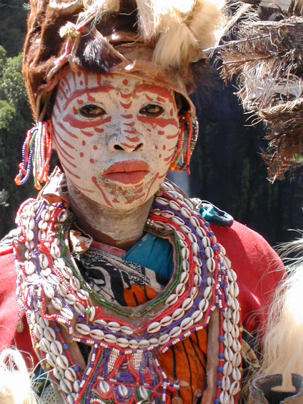 Kikuyu Woman Traditional Dress