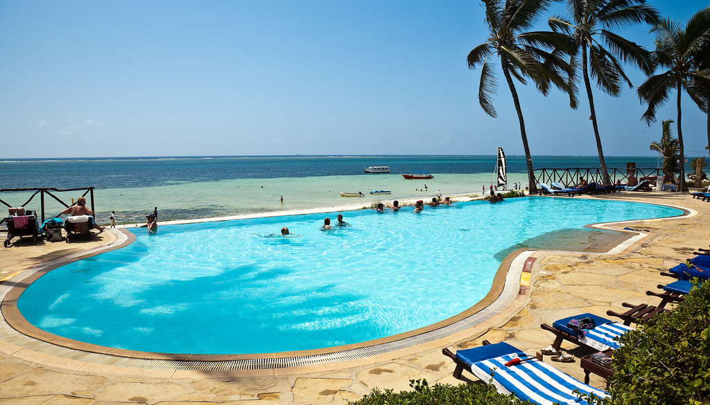 Voyager Swimming Pool near Nyali Beach