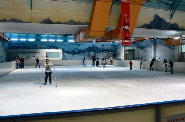 Panari Sky Center- Ice skating