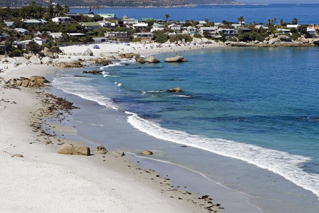 Clifton Beach, Cape Town, South Africa.