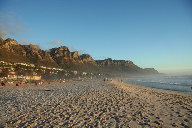 Get down to Camps Bay early in the morning for a beach picnic.