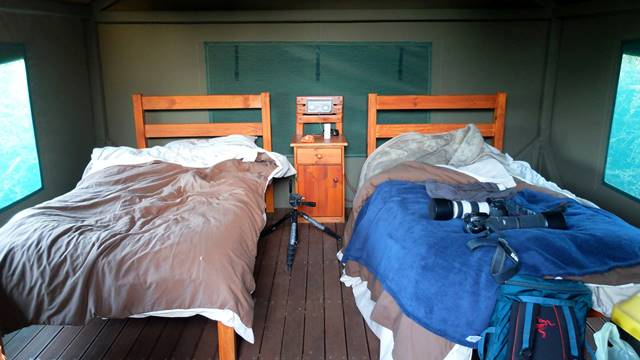 Spekboom Tented Rest Camp at the Addo Elephant National Park offers more luxury to campers than it does DIY tent pitching.