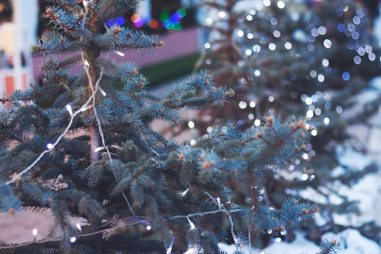 festive markets Christmas tree