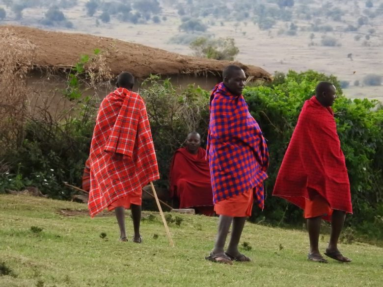 Kenya Maasai village