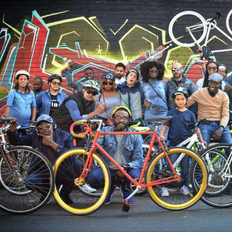 bike tour in maboneng