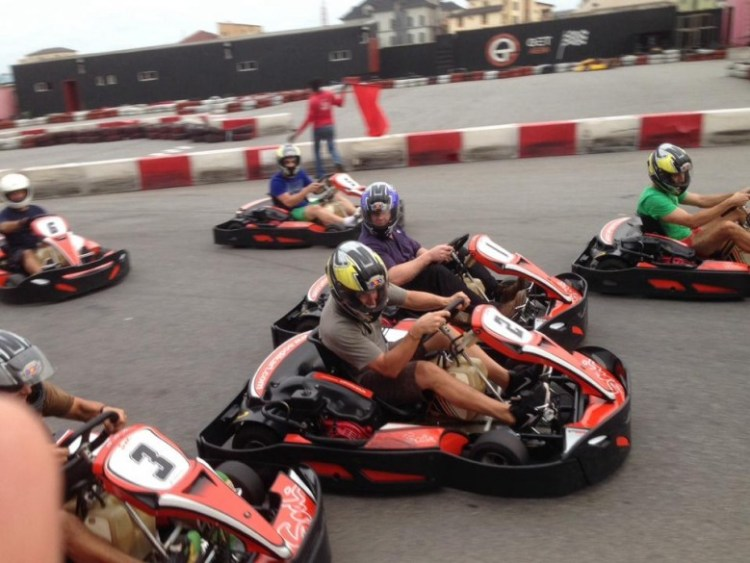 Go Karting at GET Arena