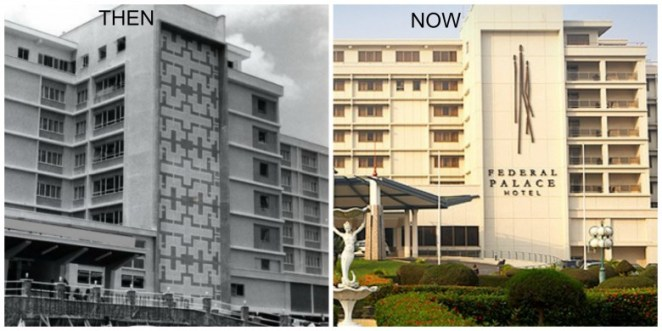 Federal Palace Hotel - Then-&-Now