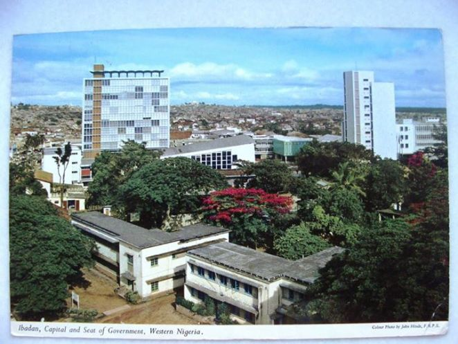 Ibadan, Capital and Seat of Government