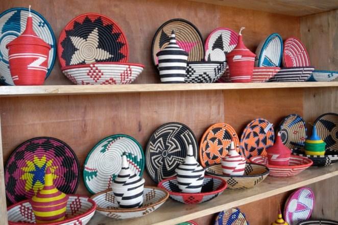 handicrafts in Rwanda