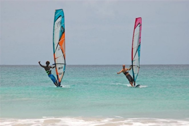 Windsurfing in Cape Verde