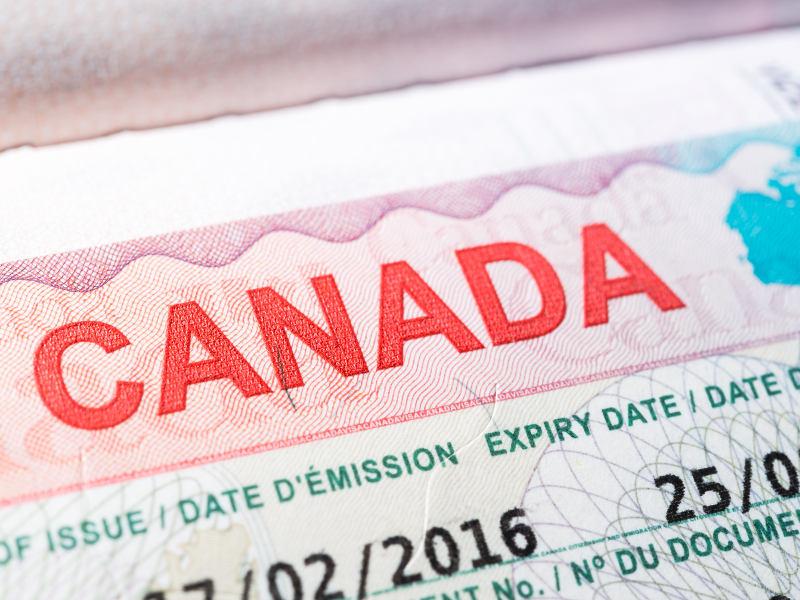 Canada visa application form processes