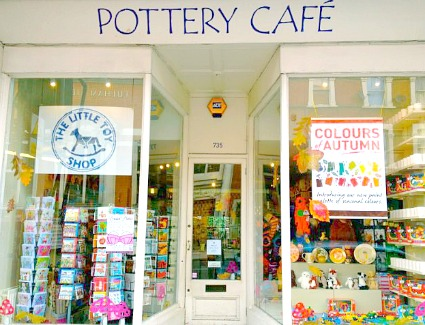 Image result for pottery cafe clapham