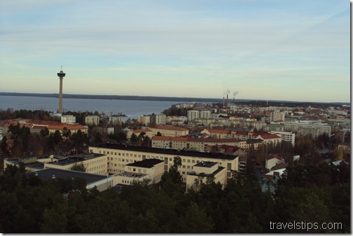 Tampere from Pynnikki Tower