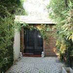 Eingang zum Guesthouse