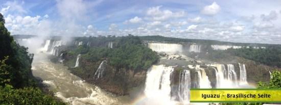 Iguazu brasilische Seite