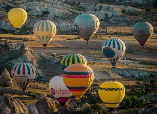 standart hot air balloon ride travel store turkey 5