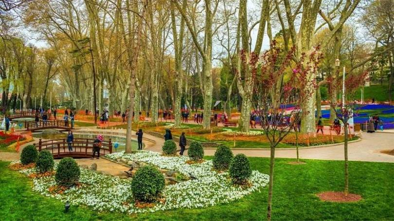 Gulhane Park Istanbul Tulip Festival