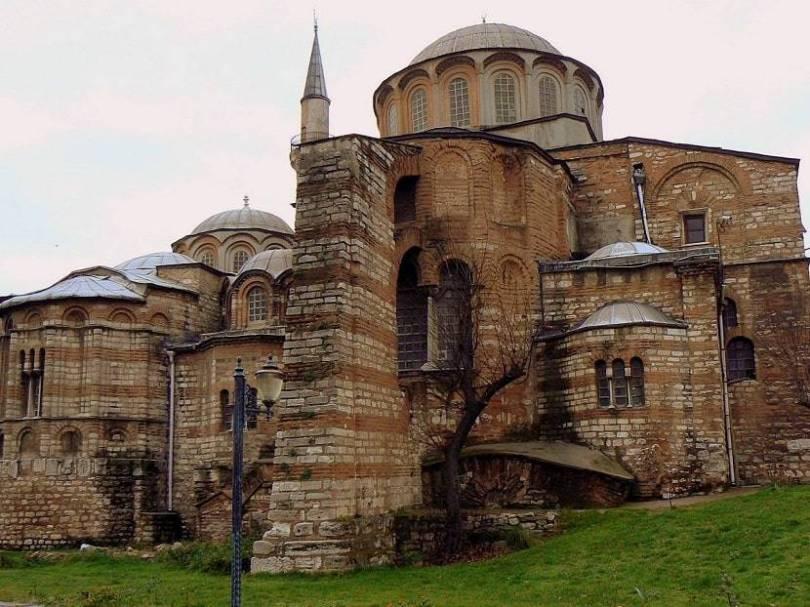 Kariye Mosque Formerly was a Church-Museum