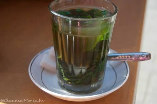 Il tè alla menta marocchino: buonissimo!