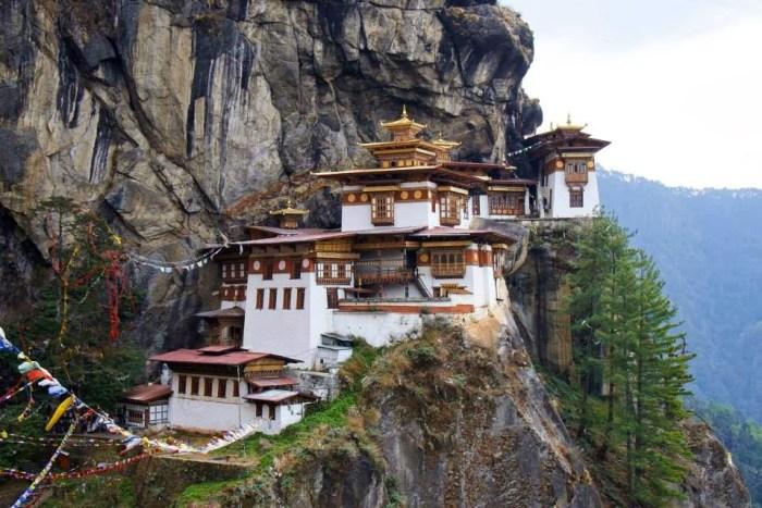 Takshang @Photo credit: Bhutan Calling Agency, Bhutan