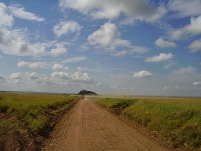In viaggio all'interno del Parco del Serengeti