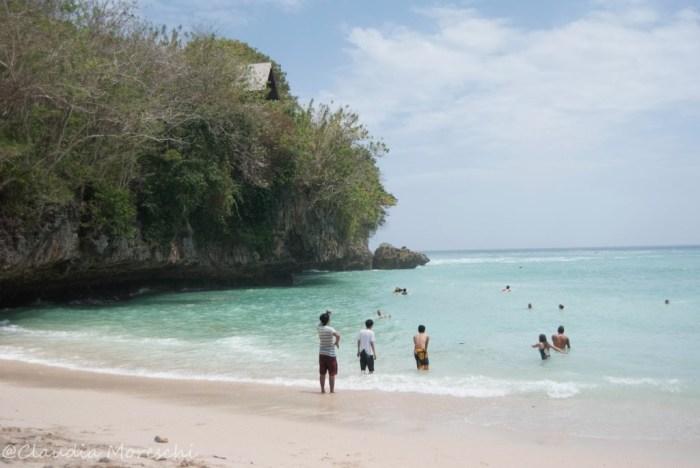 La spiaggia di Padang Padang