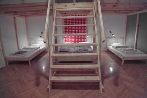 La mia stanza in ostello a Budapest