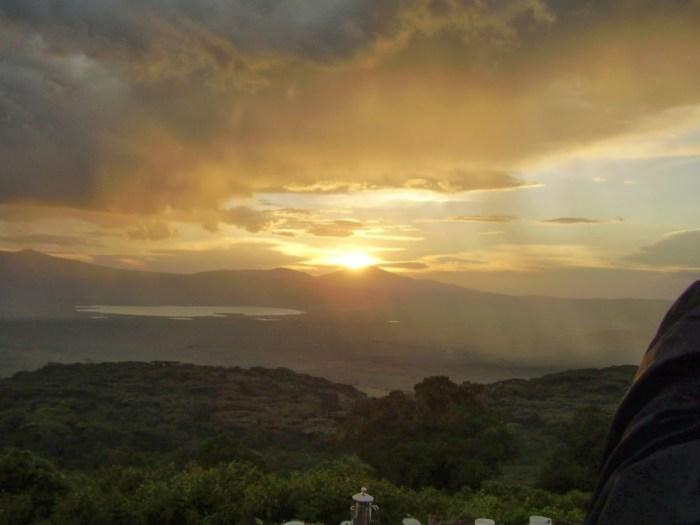 tramonto-ngorongoro