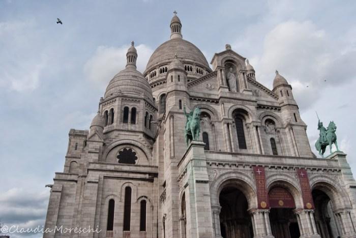 La Basilica del Sacre Coeur, a Montmartre