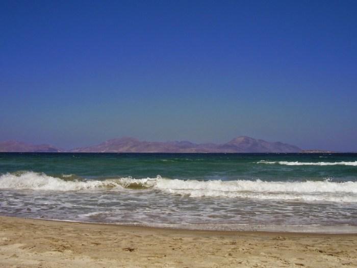 In spiaggia a Mastihari
