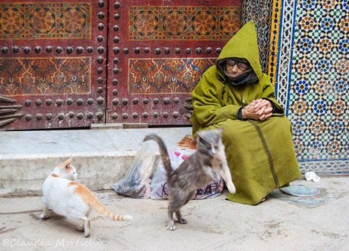 Nella medina di Fez, Marocco