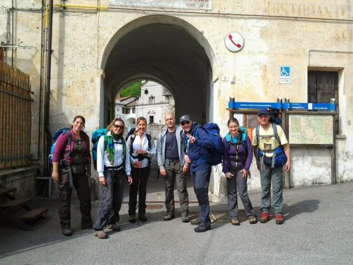 In partenza  per la nostra seconda tappa: Da San Giovanni d'Andorno all'Oasi Zegna