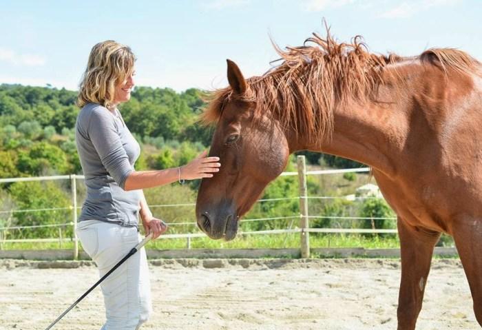 Il mio primo felice approccio con un cavallo