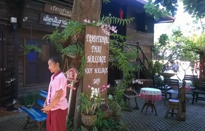 L'ingresso del Chiang Mai Women's Prison Massage Center