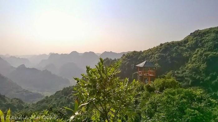 Vista sul Cat Ba National Park